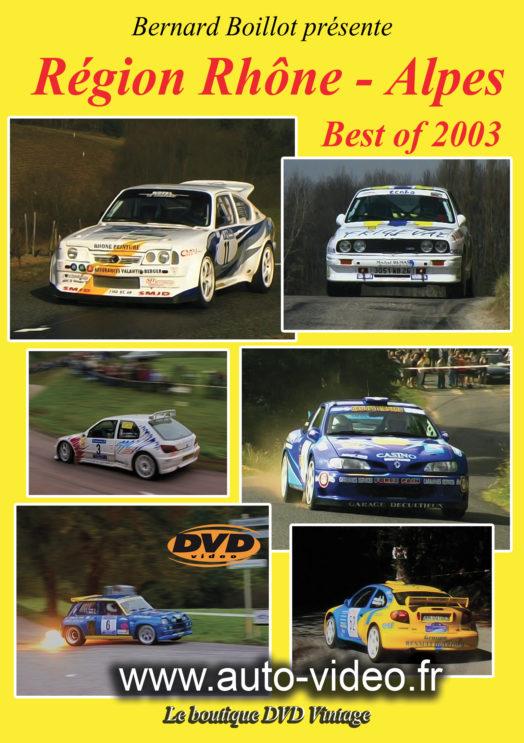 rh ne alpes 2003 la boutique dvd rallyes du sport automobile. Black Bedroom Furniture Sets. Home Design Ideas